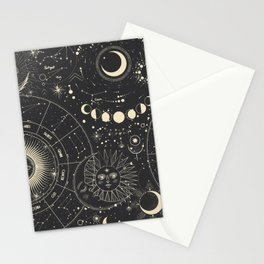 Magic patterns Stationery Cards