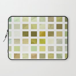 Pale Yellow Poinsettia 1 Abstract Rectangles 2 Laptop Sleeve