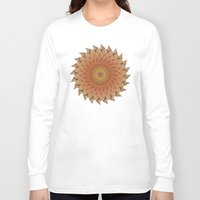 dahlia Long Sleeve T-shirts featuring Dahlia by Deborah Janke