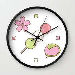 Hanami Nummies | Figure 1 Wall Clock