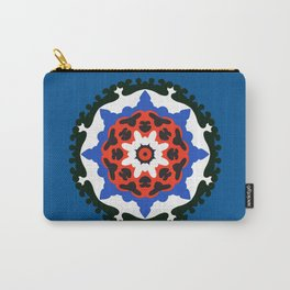 Bold and bright beauty of suzani patterns ver.7 Carry-All Pouch