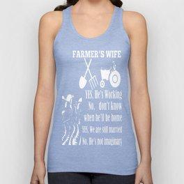 Farmer's Wife Unisex Tank Top