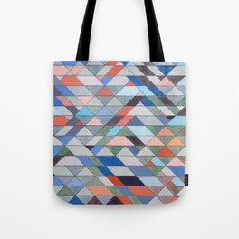 Triangle Pattern No. 7 Diagonals Tote Bag