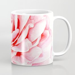 Watercolor Pink Camellia Coffee Mug
