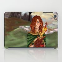 dark souls iPad Cases featuring Dark Souls 2  - Emerald Herald by Vivid-K