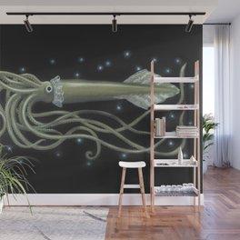 Giant Squid - Steampunk Wall Mural