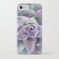 succulents iPhone & iPod Cases featuring Succulents by Klara Acel