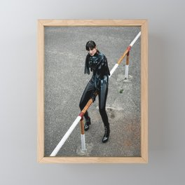 Smooth Confess Framed Mini Art Print
