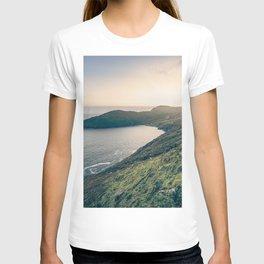 Keem Bay Sunset - nature photography T-shirt
