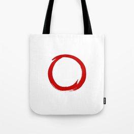 Enso circle 2 Tote Bag