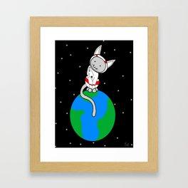 I'm On Top Of The World Framed Art Print