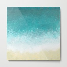 I love Beach! Metal Print