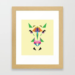 abstracthorse Framed Art Print