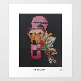Wonderful People Art Print