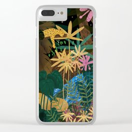 Jungle #2 Clear iPhone Case