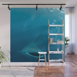 Open Wide (Whale Shark) Wall Mural