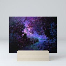 Fantasy Path Purple Mini Art Print