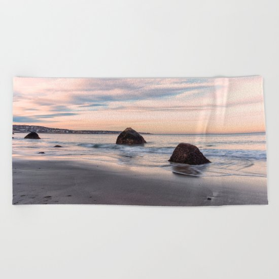 Sand Sea And Sky Beach Towel