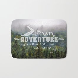 The Road To Adventure Bath Mat