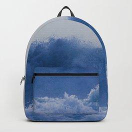 Blue Sea Wave Backpack