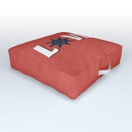 Love nautical design Outdoor Floor Cushion