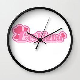 lesbiana Wall Clock