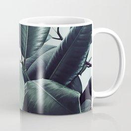 Ficus Elastica #20 #LightGreen #foliage #decor #art #society6 Coffee Mug