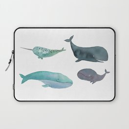 I love whales Laptop Sleeve