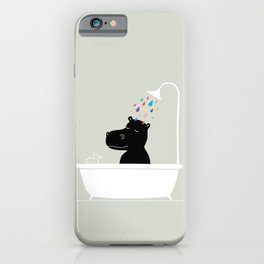 The Happy Shower iPhone Case