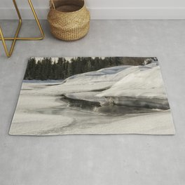 Fish Lake Dimensions Rug