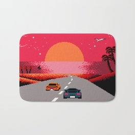 Sunset  Boulevard Bath Mat