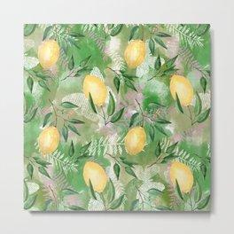 Sprigs of lemon Metal Print