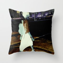 NightLife Throw Pillow