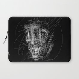 Monsters don't sleep under your bed, they sleep inside your head. Laptop Sleeve