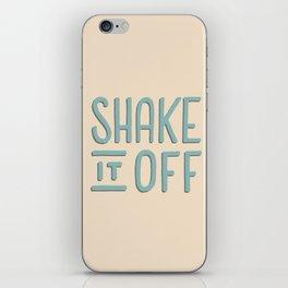 Shake it off iPhone Skin