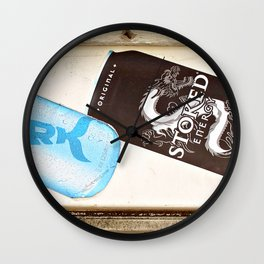 Stoked Wall Clock