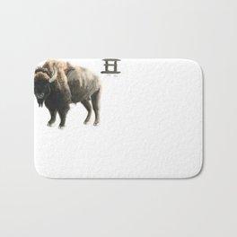 Chinese Zodiac (Ox)  Bath Mat