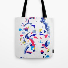 monsters off the wall Tote Bag