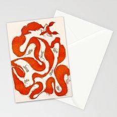 fox tail maze Stationery Cards