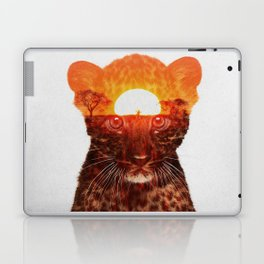 Leopard Cub Laptop & iPad Skin