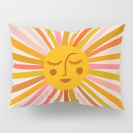 Sunshine – Retro Ochre Palette Pillow Sham