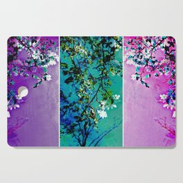 Triptych: Spring Synthesis Cutting Board