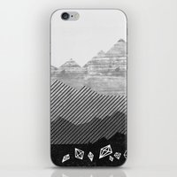 mineral iPhone & iPod Skins featuring Mineral by Jenny Tiffany