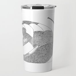 Snail - One Liner Artwork Travel Mug