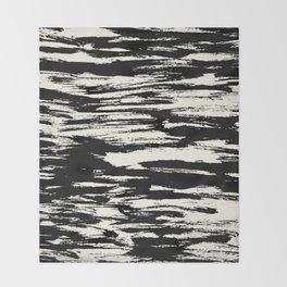 Brush Stripe 2 Throw Blanket