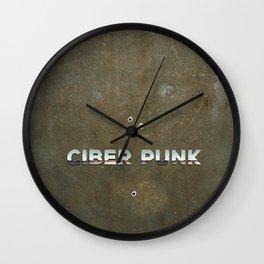 Ciber Punk Wall Clock