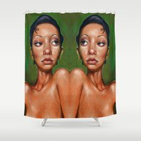 swan Shower Curtains featuring Swan by BookOfFaces