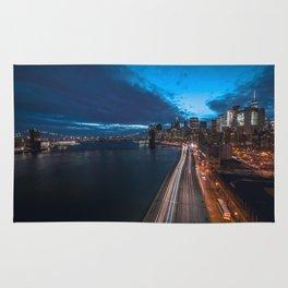 Blue Hour New York City Rug
