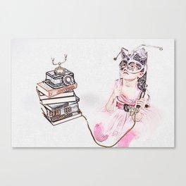 My Untold Fairy-Tales Series (2 0f 3) Canvas Print