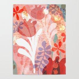 Pink Lofty Garden Poster